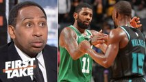 Kemba replacing Kyrie wouldn't instantly fix the Celtics – Stephen A. - First Take
