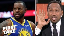 'Somebody's lying-' – Stephen A. reacts to Iguodala's Warriors comments - First Take