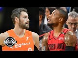 Kevin Love to the Blazers? What if the Clippers don't get Kawhi Leonard? - Woj - Lowe