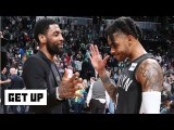 D'Angelo Russell isn't in the same conversation as Kyrie Irving – Jay Williams - Get Up