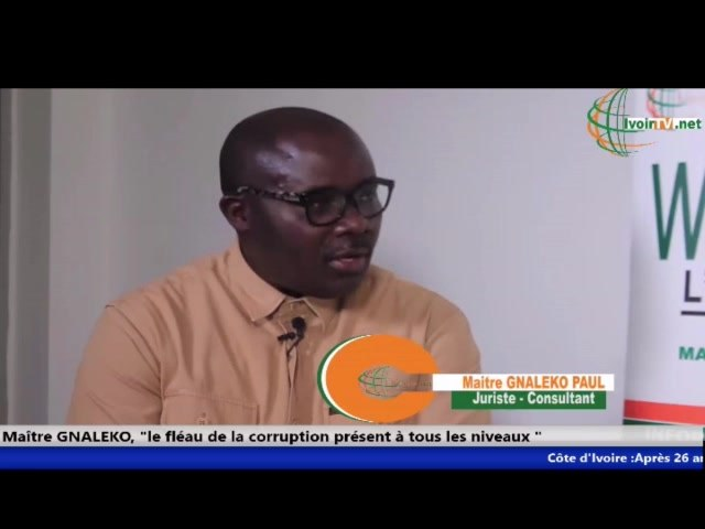 """Corruption : Un ivoirien de la Diaspora décrie, """" Les pots de vin"""" dans l'administration ivoirienne"""