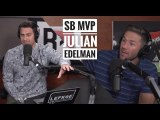 SB MVP Julian Edelman on Suspension, Brady and Belichick - The Lefkoe Show