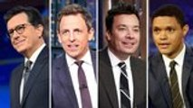 Late-Night Hosts Poke Fun At First Democratic Debate Answers and Technical Issues | THR News