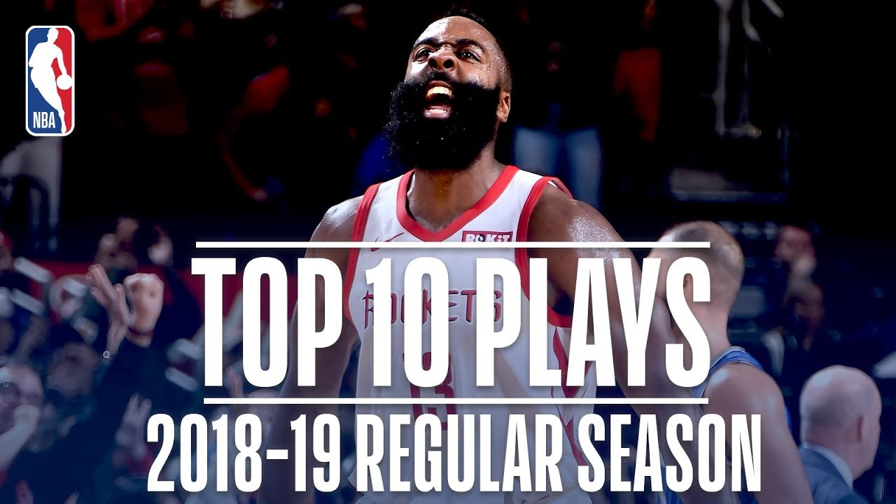 James Harden's Top 10 Plays of the 2018-19 Regular Season