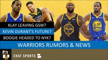 Warriors Free Agency Rumors On Klay Thompson, Kevin Durant - Boogie Cousins   Iggy On Breakfast Club