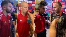 Réactions de Mahrez, Atal , Feghouli et Belmadi après le Sénégal
