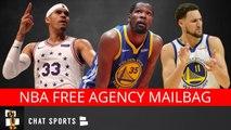 D'Angelo Russell, Tobias Harris, Knicks Offseason, Kevin Durant vs. Klay Thompson - NBA Mailbag