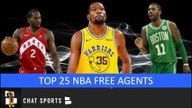 Top 25 NBA Free Agents In 2019