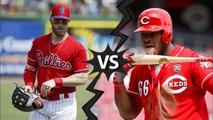 MLB - Bryce Harper VS Yasiel Puig
