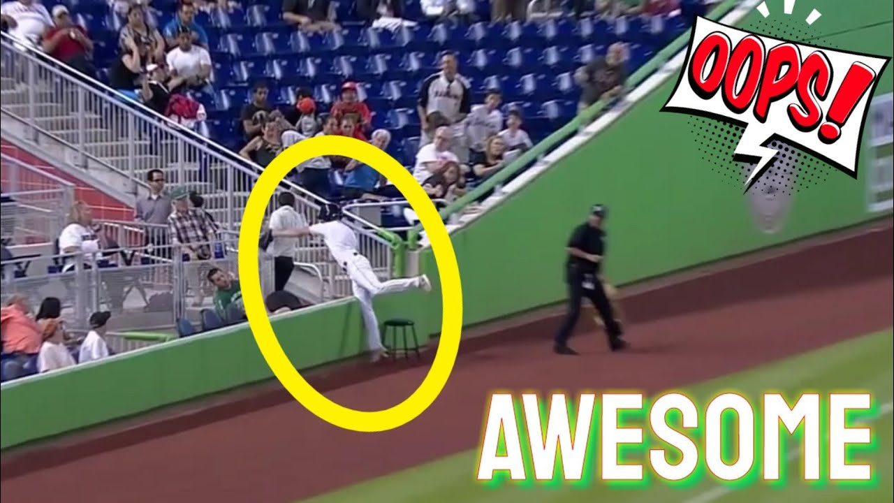 MLB – Awesome Catches of Ballboy