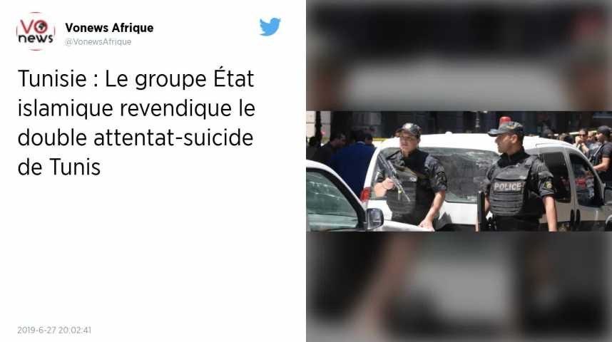 Tunisie : L'État islamique revendique le double attentat suicide survenu à Tunis | Godialy.com