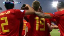 Spain U21 vs France U21   All Goals and Highlights
