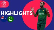 New Zealand vs Pakistan - Match Highlights - ICC Cricket World Cup 2019