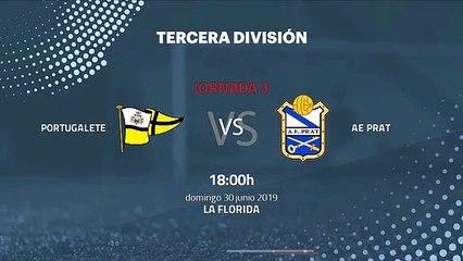 Previa partido entre Portugalete y AE Prat Jornada 3 Tercera División - Play Offs Ascenso