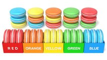 Learning Colors with 3D Macaron for Kids