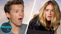 """Spider-Man: Far From Home"" Cast Reacts to Meeting WatchMojo - FULL Interview"