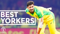 The Best Yorkers of the 2019 CWC- - Unplayable Deliveries - ICC Cricket World Cup 2019