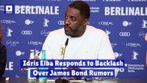 Idris Elba Responds to Backlash Over James Bond Rumors