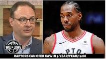 Adrian Wojnarowski reveals Raptors can offer Kawhi Leonard 5-year/190M supermax contract