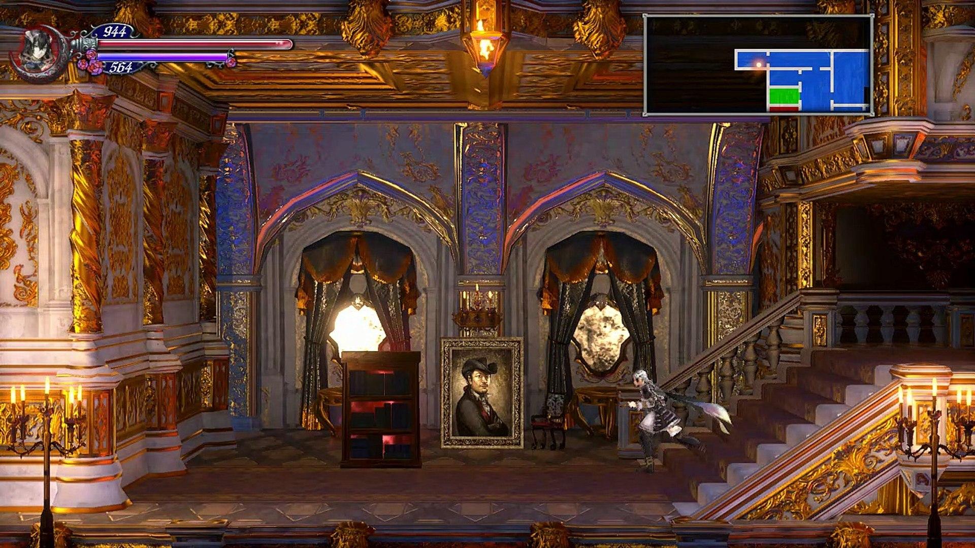 Bloodstained ROTN,Gameplay Español 18, La pesadilla de 8 bits modo de juego oculto tipo NES