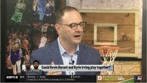Adrian Wojnarowski BELIEVES Kevin Durant - Kyrie Irving can play together