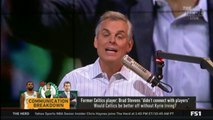 "Colin Cowherd: ""Would Celtics be better off without Kyrie Irving?"""