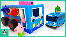 Toys assembly videos for kids - DIY How To Make Tayo The Little Bus for PJ Mask Toys - MariAndToys
