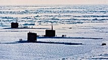 U.S. & U.K. Navy Nuclear Submarines Break Through Arctic Ice