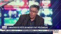 Les insiders (1/2): L'université d'été du Medef fait polémique - 27/06