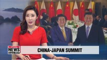China, Japan seek to take relationship to next level with summit