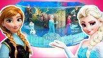 La Reine des Neiges Figurines Anna Elsa Olaf - Unboxing Disney Frozen Toy