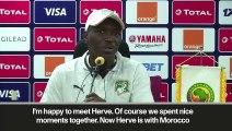 (Subtitled) Ivory Coast boss dismisses Morocco's Renard 'advantage'
