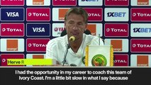 (Subtitled) Morocco's Renard on time with Ivory Coast ahead of Group D match