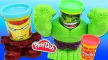 Jouet Play Doh Hulk Poings Destructibles Marvel Iron Man - Smashdown Hulk Playdough