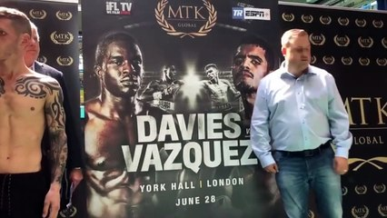 RYAN WALSH DEFENDS BRITISH TITLE FOR 6TH TIME, AGAINST LEWIS PAULIN, AS PAIR GO HEAD TO HEAD.