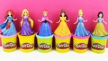 La Reine des neiges - les Princesses de Disney : Raiponce, Cendrillon - Frozen Play Doh Toys