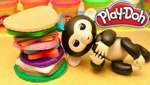 Singe Fingerlings Tour Géante de Biscuits Gourmands Play Doh Magique