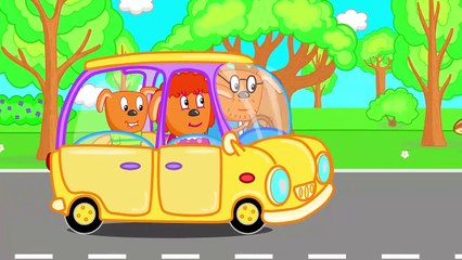 Puppy Dog Family LITTLE MONKEY PICNIC Funny Cartoon for Kids