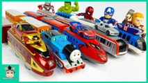 Colors for Children Learn with Tayo Cars Toy - Soccer Ball. Learn Colors with Avengers - MariAndToys