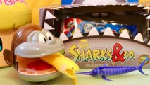 Singe Dentiste Sharks - Co Maxi Requins Squishies à Collectionner Pochettes Surprises Altaya