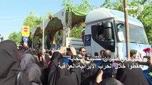 حشود في طهران لتشييع ضحايا سقطوا خلال الحرب الإيرانية-العراقية