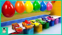 Learn Colors With Cars Toy and Surprise Ball For Kids. Colour With Videos for Children - MariAndToys
