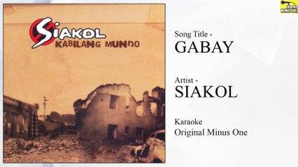 Siakol – Gabay (Original Minus One)