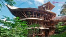 Sustainable Bamboo Homes in Bali ~ by Elora Hardy