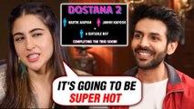 Sara Ali Khan EPIC REACTION On Kartik Aaryan And Janhvi Kapoor In Dostana 2