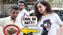 Kangana Ranaut's Fan Insulted For A Selfie Outside A Studio In Mumbai