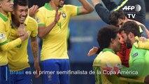 Brasil elimina a Paraguay en penales y se mete a semifinales de Copa América