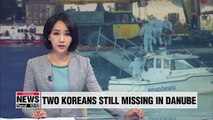 Thirty days after Danube tour boat sinking, two Koreans still missing