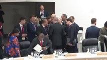 """Cumhurbaşkanı Erdoğan G20'de - """"Küresel Ekonomi"""" oturumu"""