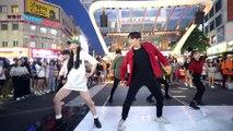 「K-Pop in Public」 BLACKPINK, NCT U - Whistle x BOSS Mashup Dance Cover